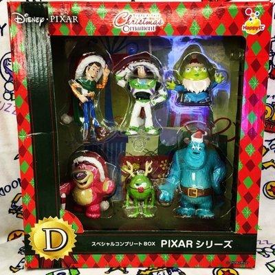絕版 日本 toy story 一番賞 聖誕 三眼仔 胡迪 巴斯 勞蘇 lotso woody alien christmas ornament