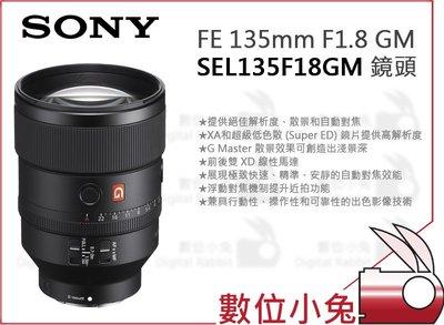 數位小兔【SONY FE 135mm ...