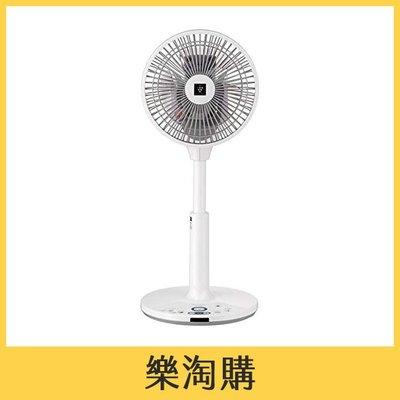 SHARP PJ-J2DS 電風扇 電扇 八段風量 三維擺頭 空氣清淨 3枚羽根 DC扇 白色