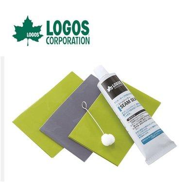 【大山野營】LOGOS LG71999600 帳篷修補組 修補膠 防水貼片 修補片