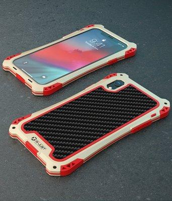 5色i Phone XR-Xs Max 7-8 Plus金紅AMIRA-R防水潑☆防摔鋁合金屬邊框背蓋手機殼保護殼
