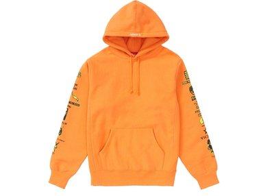 【美國鞋校】 預購 Supreme FW18  Menace Hooded Sweatshirt 帽T 4色