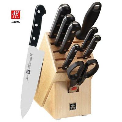 德國 雙人牌 Zwilling TWIN Gourmet 10 件刀具組 (31699-001) ~耶誕禮物 尾牙贈品