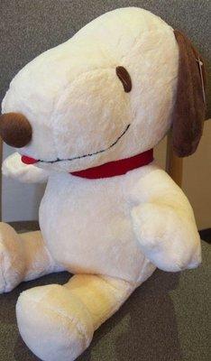 全新史努比俏皮狗娃娃高約45公分