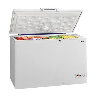 美兒小舖COSTCO好市多線上代購~HAIER 海爾 上掀式冷凍櫃 379公升HCF428H-2(1入)