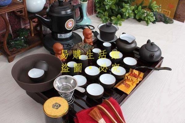 [王哥廠家直销]新款特價熱銷茶具套裝 紫砂茶具 茶盤 茶具套裝 功夫茶具 電茶壺LeGou_53_53
