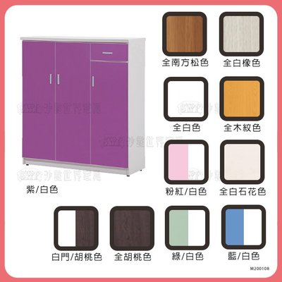 【沙發世界家具】塑鋼鞋櫃**〈Y061R1032-1〉鞋櫃/矮櫃/邊櫃/高低櫃