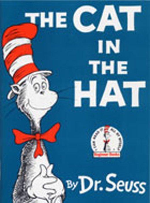 *小貝比的家*THE CAT IN THE HAT(魔法靈貓) /精裝/3~6歲