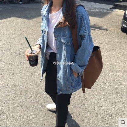 新款潮寬鬆學生韓版bf原宿風薄款上衣短外套