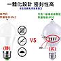 紅外線感應燈 人體感應燈 智慧感應10W E27 LED燈泡 人體感應防盜燈 樓梯燈/車庫燈泡/走道燈/浴室燈/陽台燈