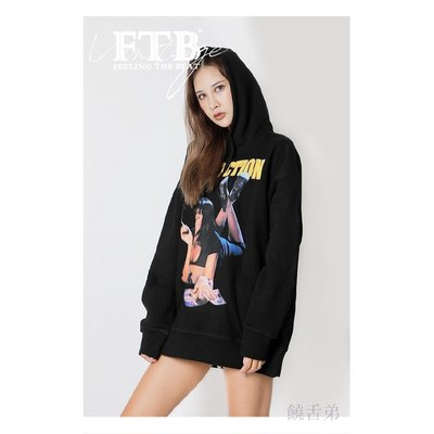 新品~現貨~FTB 2019FW PULP FICTION TRIBUTE HOODIES 原創國潮美式衛衣~EVA50