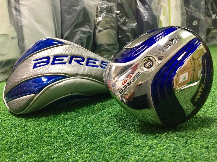 [客人寄賣] [二手專賣區] HONMA BERES C-01 本間 高爾夫 開球木桿 10度-R 3S 三顆星