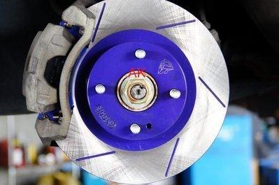 MGK 藍劃線碟+日本製FBK陶瓷競技版(紅皮)來令片 BIG TIIDA SUPER SENTRA JUKE 無渦輪