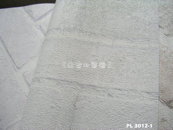 【大台北裝潢】PL韓國進口壁紙/壁布* 仿建材 灰白磚牆 每坪750元