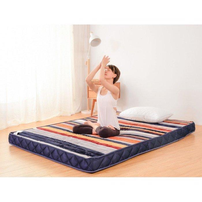 大學生宿舍床墊單人0.9米1.2可折疊墊被寢室加厚