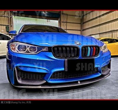 BMW 3Series F30 F31 M3 保桿 專用 前下巴 定風翼 316 318 320 328 330 335