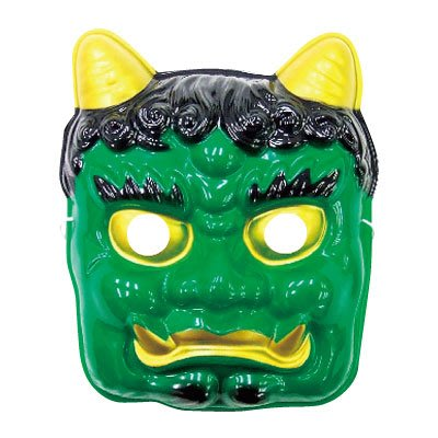 【beibai不錯買】派對道具 變裝 小朋友面具 日本進口 青鬼面具