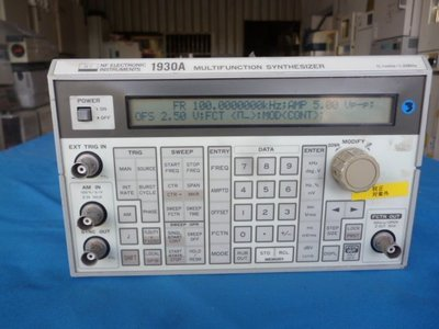 NF 1930A 多功能分析儀multifunction Synthesizer, 0.1 MHz to 1.2 MHz