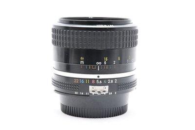 尼康 NIKON AI NIKKOR 35mm F2 AI接環 廣角定焦鏡頭 全幅 良品 轉接 (三個月保固)