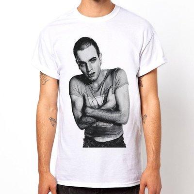 Ewan McGregor-Trainspotting短袖T恤-白色 猜火車人物電影英國潮流情色樂團玩翻390