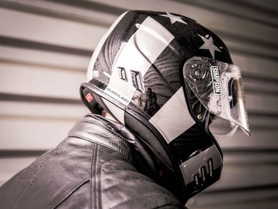 大特價【歐洲正品】Simpson Venom Subdued 全罩帽 辛普森 xs 全罩安全帽 復古設計 哈雷機車 檔車