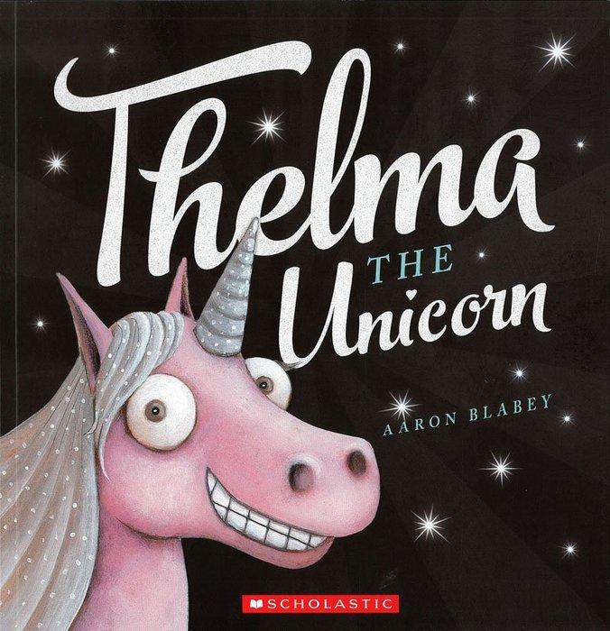 *小貝比的家*THELMA THE UNICORN/平裝書+CD/3-6歲
