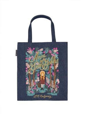 莉迪卡娜~美國Out of Print 兒童繪本文學帆布包 綠野仙蹤童書文藝單肩包袋