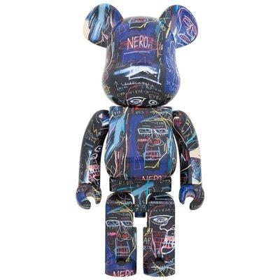 全新未拆 be@rbrick Basquiat #7 巴斯奇亞7代 1000% 積木熊 暴力熊 庫柏力克熊 高雄現貨
