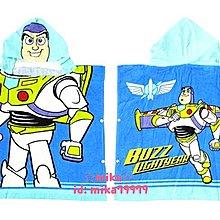 ☆Mika☆ 日本正版 迪士尼 玩具總動員 巴斯光年 兒童 連帽 浴巾 毛巾 保暖毯 770含運◎♡
