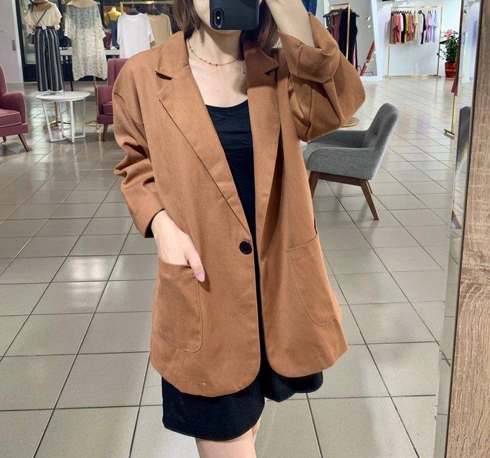 【PINKLALA】超值回饋單品棉麻西裝外套