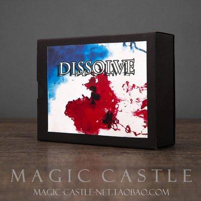 WULI西子的店--近景紙牌魔術道具Dissolve撲克溶解 效果震撼直觀 E21#魔術
