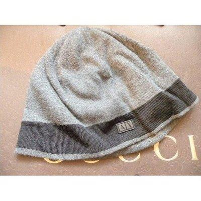 100%真品100%新「ARMANI EXCHANGE A/X AX A X」黑魔帽子Hat,1-Size《Made in Hong Kong》原$799