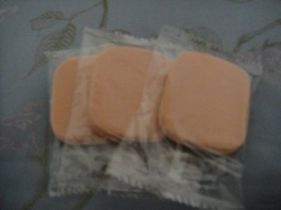 全新資生堂SHISEIDO粉餅粉撲10個