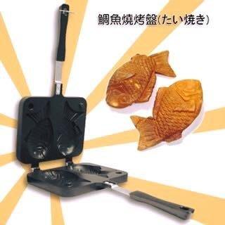 烘貝樂-鯛魚燒 鬆餅烤盤 車輪餅烤盤 紅豆餅烤盤 銅鑼燒 煎蛋盤 平底鍋 鬆餅烤盤 不沾鍋