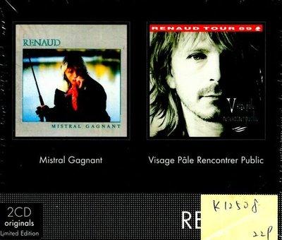 *真音樂* RENAUD / VISAGE PALE RENCONTRER PUBLIC 2CD 全新 K12508 (下標賣)