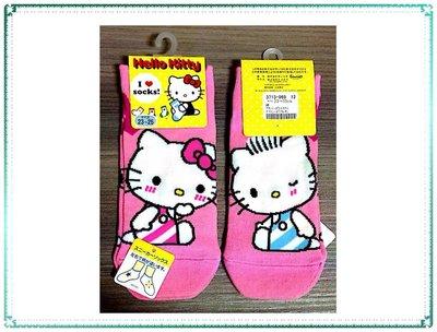 【Q寶寶】日本製 Hello Kitty 凱蒂貓 襪子 23~25cm_現貨