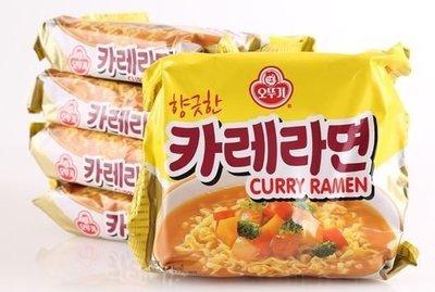 韓國不倒翁OTTOGI 咖哩麵 5入(...