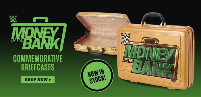 ☆阿Su倉庫☆WWE Money in the Bank Commemorative Briefcase MITB公事包