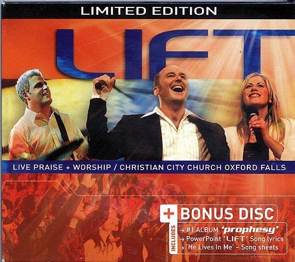 【塵封音樂盒】Christian City Church - Lift   2CD