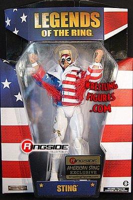 ☆阿Su倉庫☆WWE摔角 AMERICAN STING TNA EXCLUSIVE STING美國限定款人偶 熱賣中