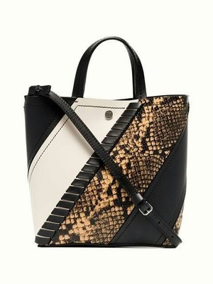 EZ Fashion 2018FW義大利進口真品Proenza Schouler真品Hex tote側背包-黑白