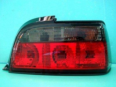 》傑暘國際車身部品《 全新優質外銷BMW E36 .4門紅白晶鑽.紅黑晶鑽尾燈