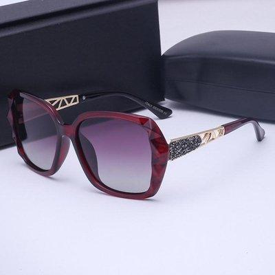 同款眼鏡新款偏光太陽鏡女潮大框圓臉墨鏡顯瘦眼睛