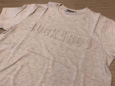 JFK 韓國潮流品牌 BUCKAROO 灰底/特殊3D立體LOGO配色
