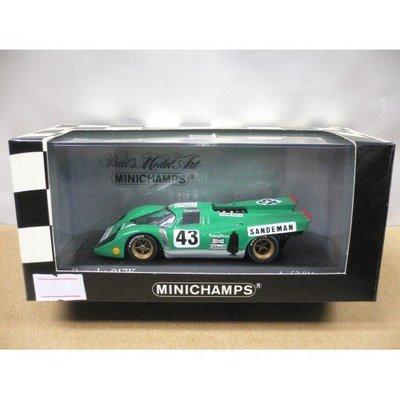 MINICHAMPS 1/43 PORSCHE 917K 6 HOURS WATKINS GLEN 1971 #43 (05372) (PIU110)