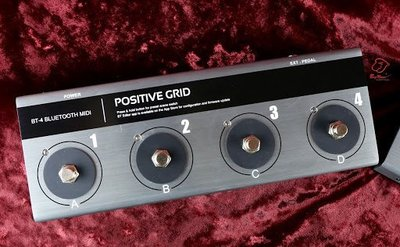大鼻子樂器 免運 原廠公司貨 Positive Gird BT-4 BT4 藍芽 Midi 控制踏板