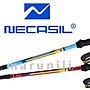 NECASIL 紐卡索 碳纖維 超輕量180g 德國GS安全認證 專業登山健走專用 三節伸縮登山杖