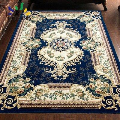 東升地毯 歐式美式客廳沙發地毯臥室床邊滿鋪宮廷家用加厚茶幾墊WY