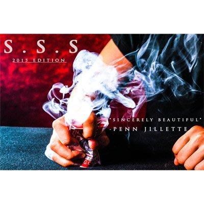 魔術魂道具Shop  美國 ~ SSS 2015 by Shin Lim ~ 安靜無袖煙霧 ~ FISM程序道具教學