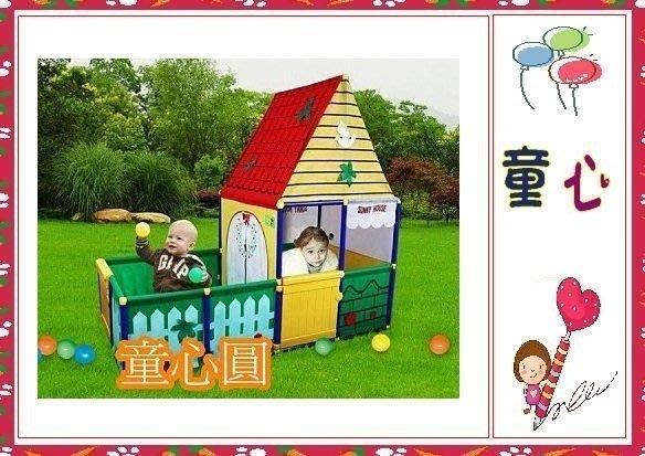 SUNNYCAT 超大款歐式花園庭院別墅大球屋~有庭院~可開門喔~免運費◎童心玩具1館◎
